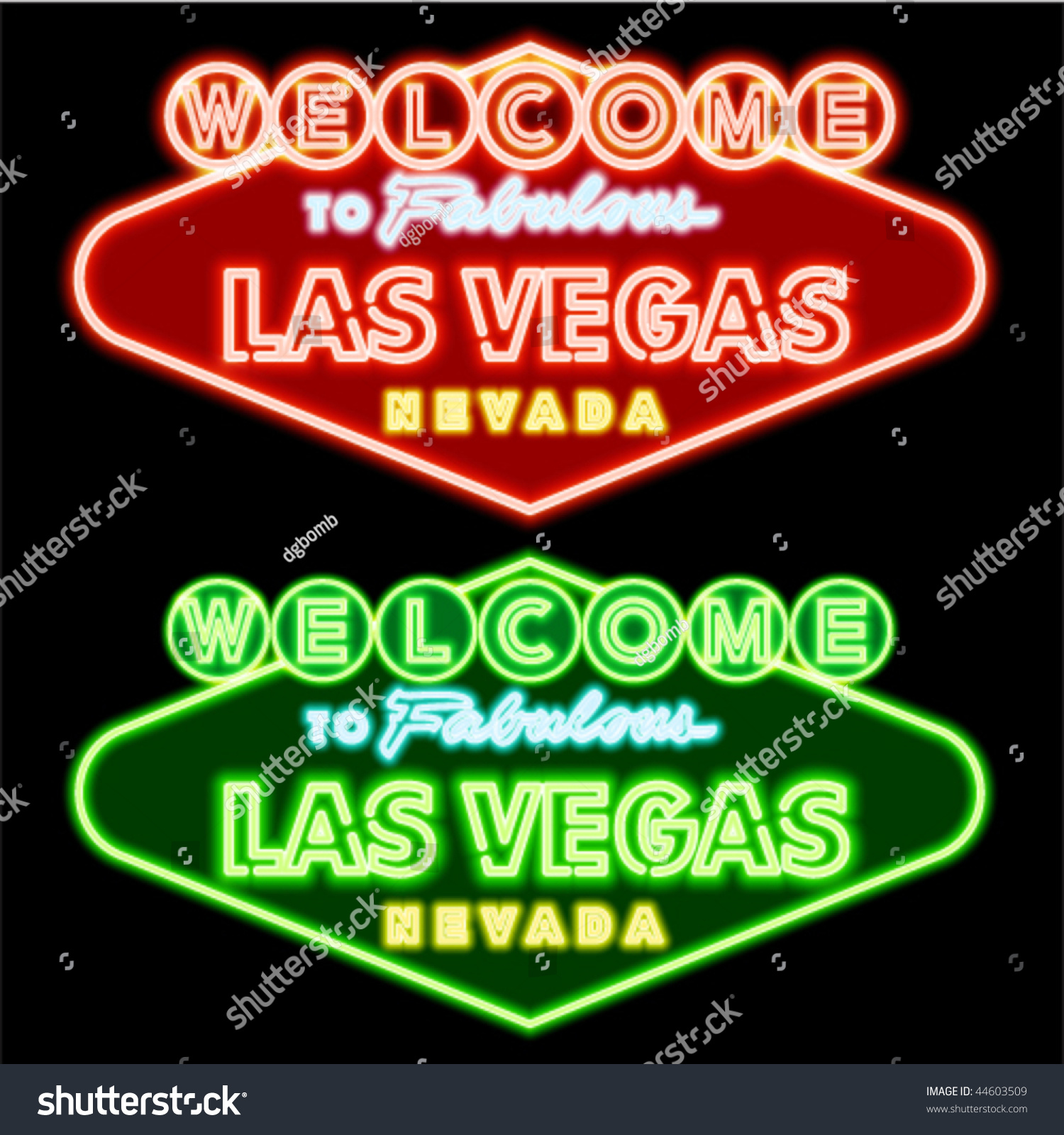Stock footage welcome to fabulous las vegas sign with flashing lights - Neon Las Vegas Road Sign
