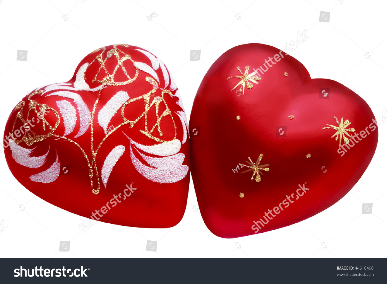 Two hearts symbol love between two stock photo 44610490 shutterstock two hearts as a symbol of love between two people biocorpaavc Images