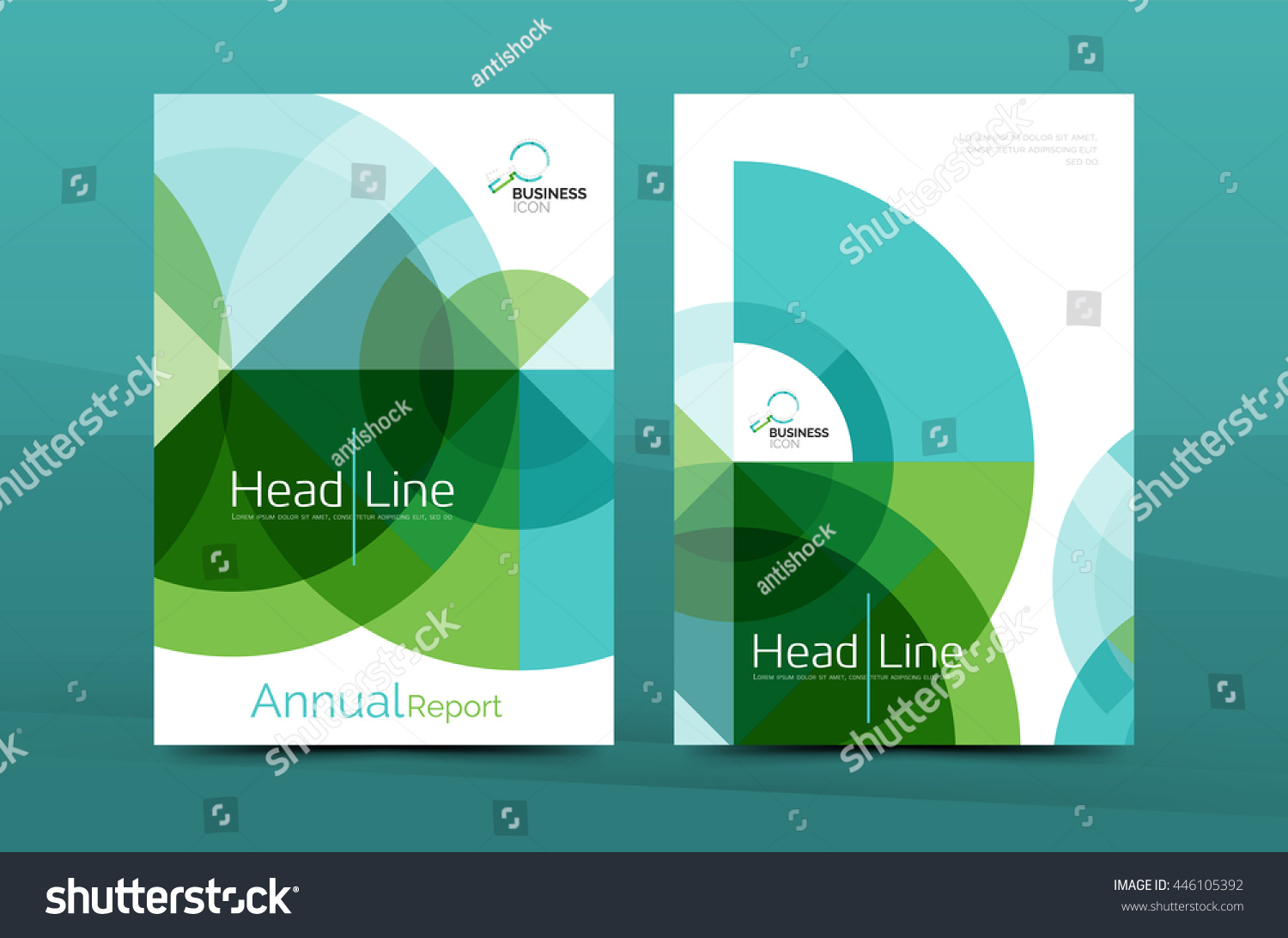 clean geometric design annual report cover stock vector  clean geometric design annual report cover leaflet business cover page brochure flyer layout