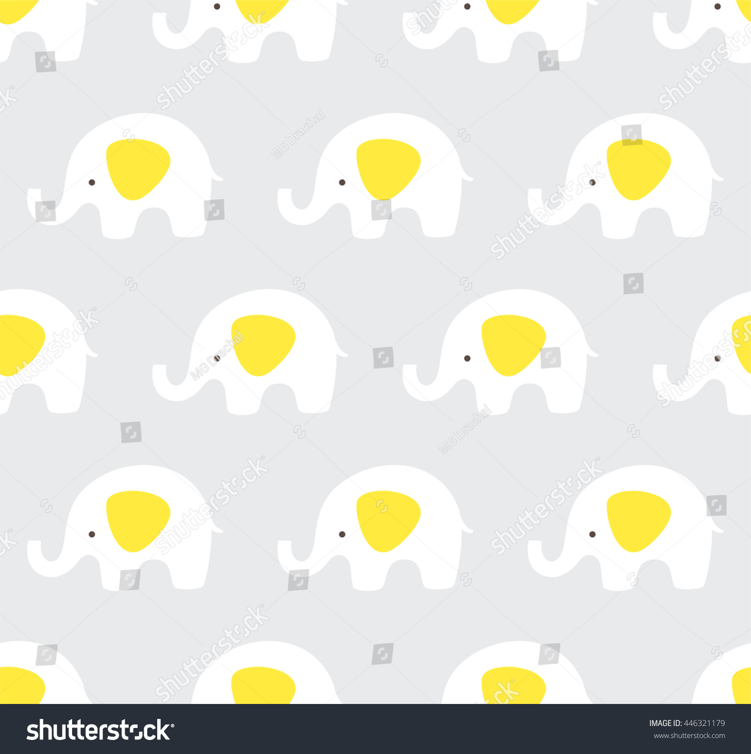 cute cartoon baby elephant wallpaper