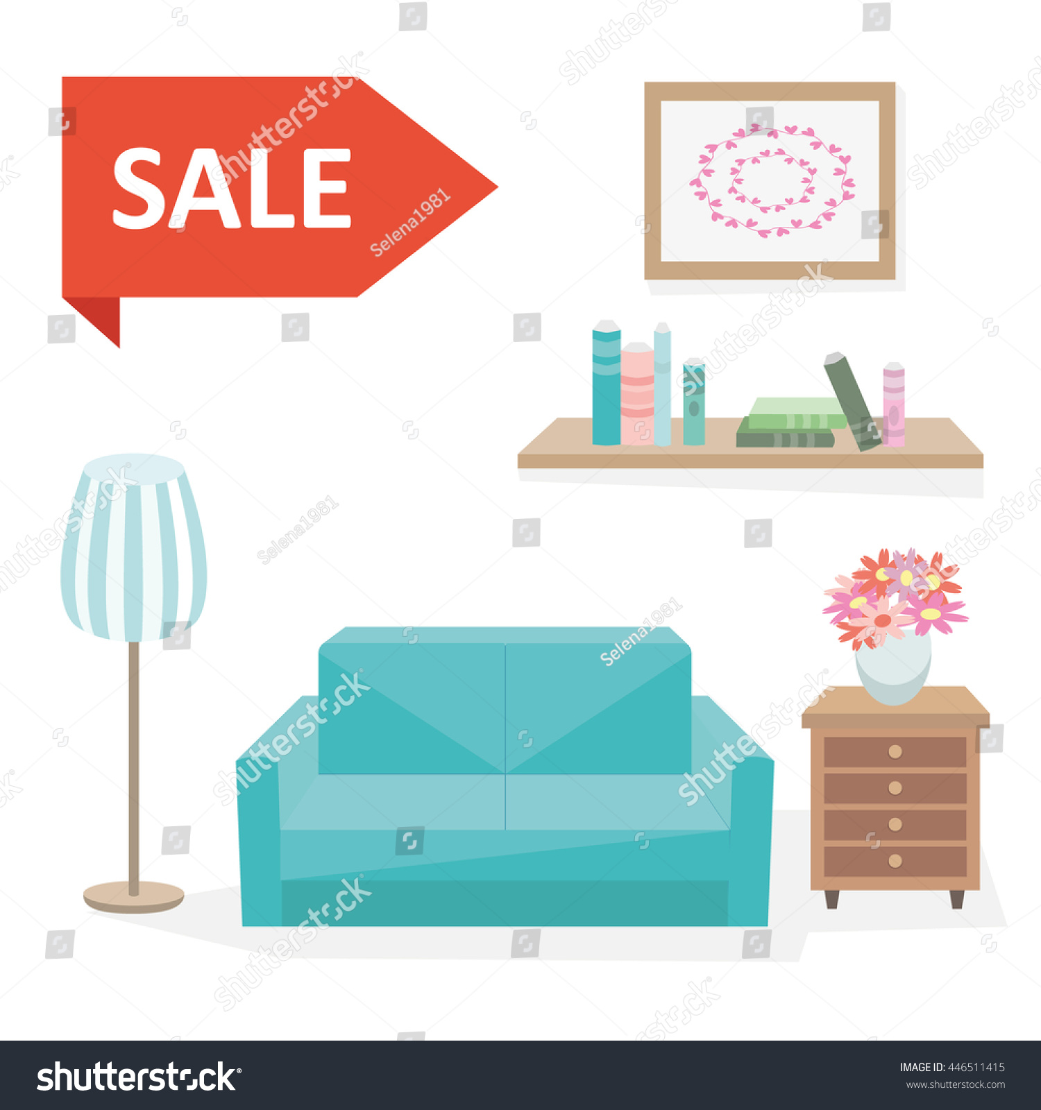 Furniture Store Clip Art Discounts