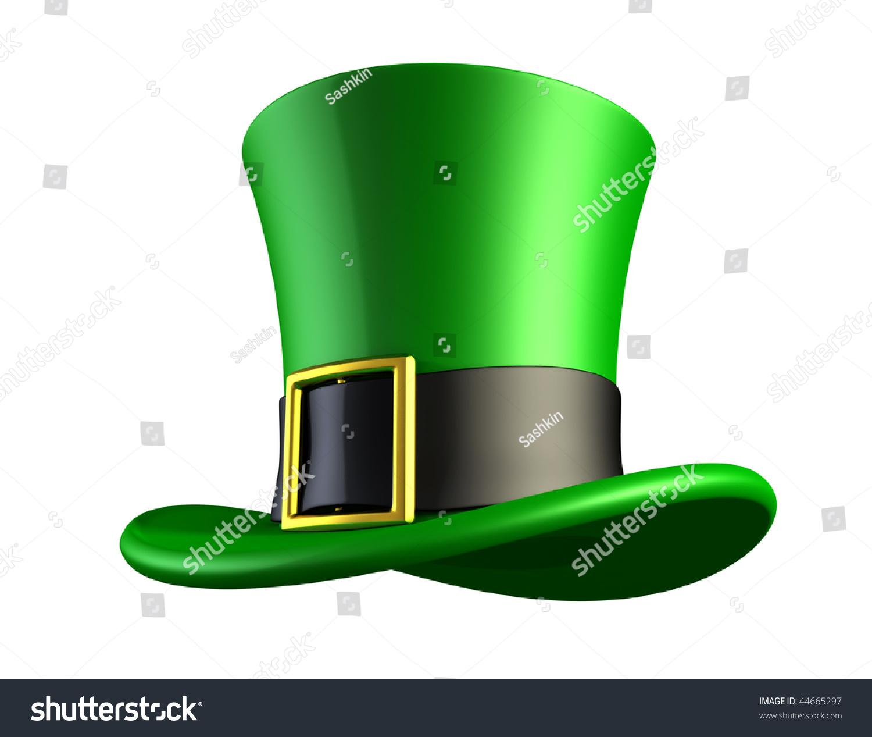 st patricks day green hat leprechaun stock illustration 44665297