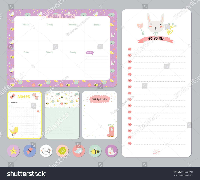 cute schedule planner