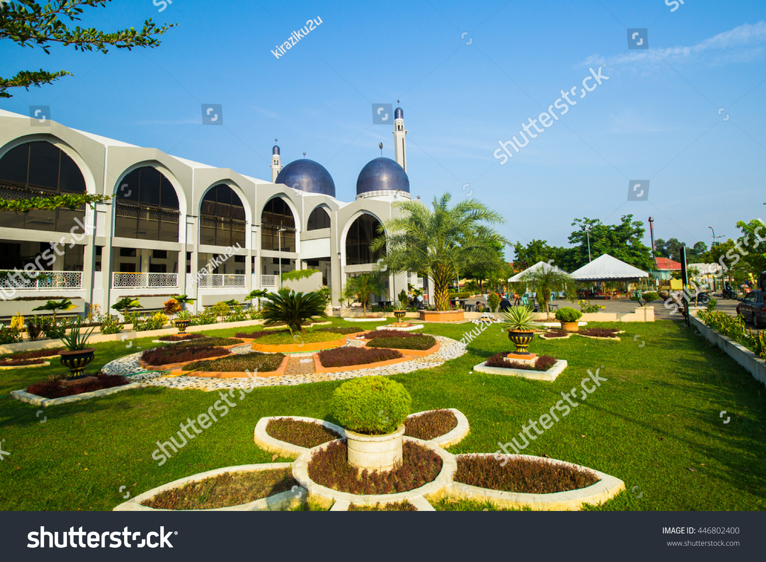 View Sultan Ismael Petra Mosque Kubang Stock Photo 446802400 ...