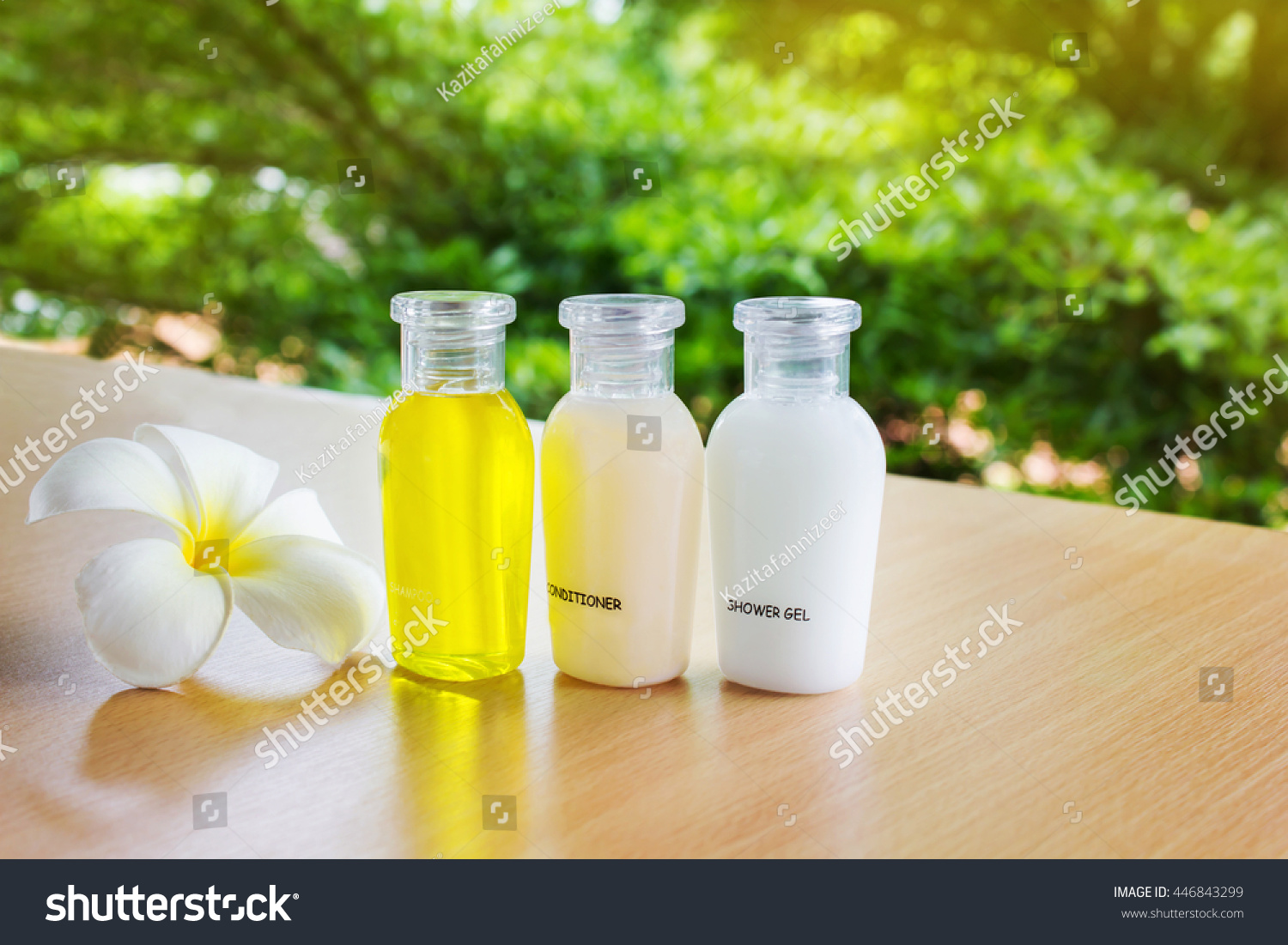 Mini Set Bubble Bath Shower Gel Stock Photo Edit Now 446843299