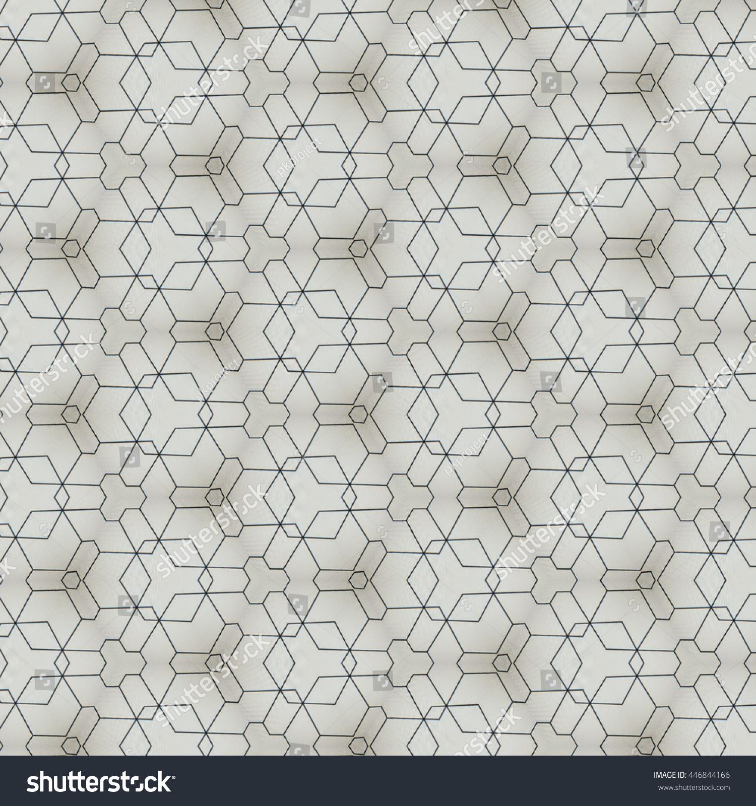 Modern Pattern Design Fabric Interior Wallpaper Stock Illustration ...