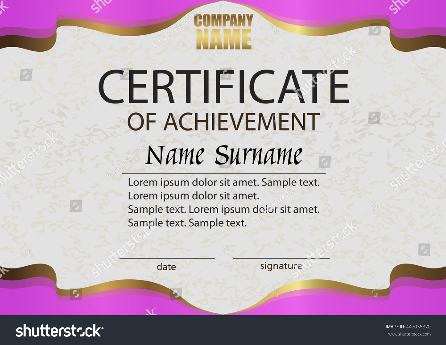 Winner certificates pay advice slip sample certificate winning competition choice image certificate stock vector certificate of achievement reward winning the competition yelopaper Gallery