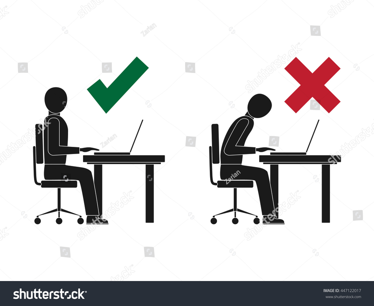 Photo Ergonomic Stand Up Desk Images Standing Desk