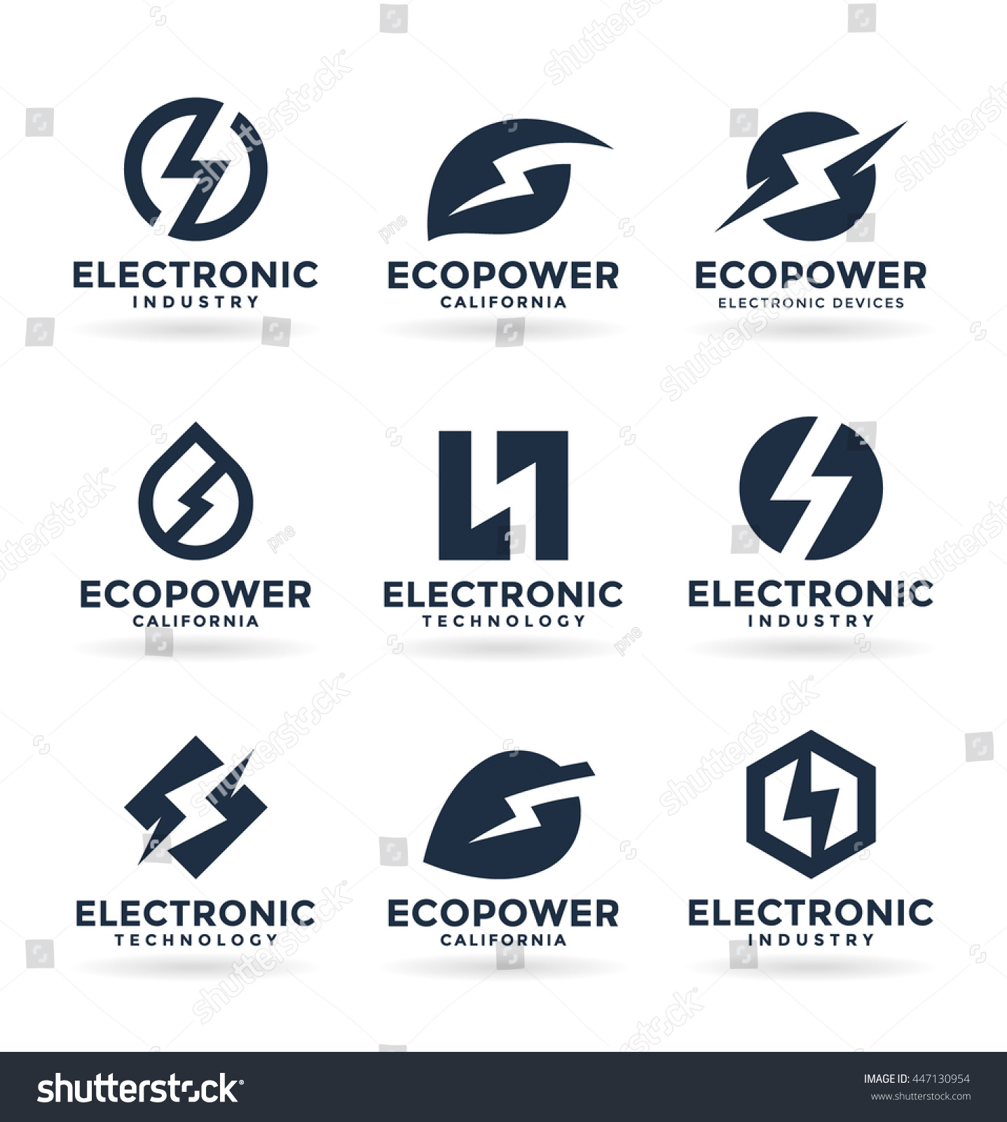Set Of Electricity Signs Symbols soccer field design schematic ...