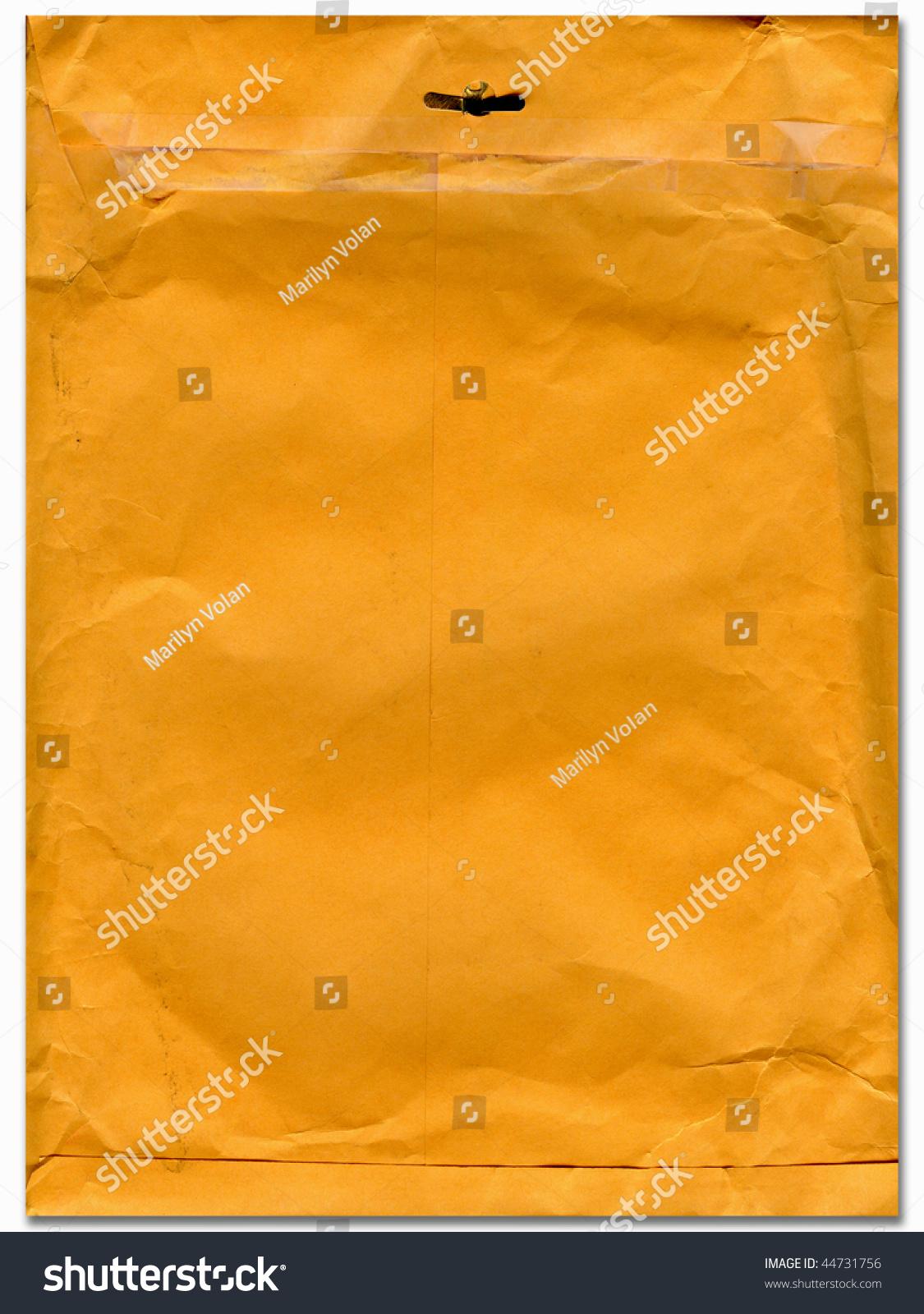 Old Large Manila Envelope Stock Photo 44731756 - Shutterstock