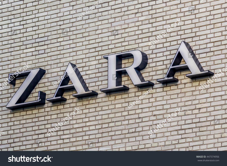 Rotterdam Netherlands July 2 2016 Zara Stock Photo Edit Now