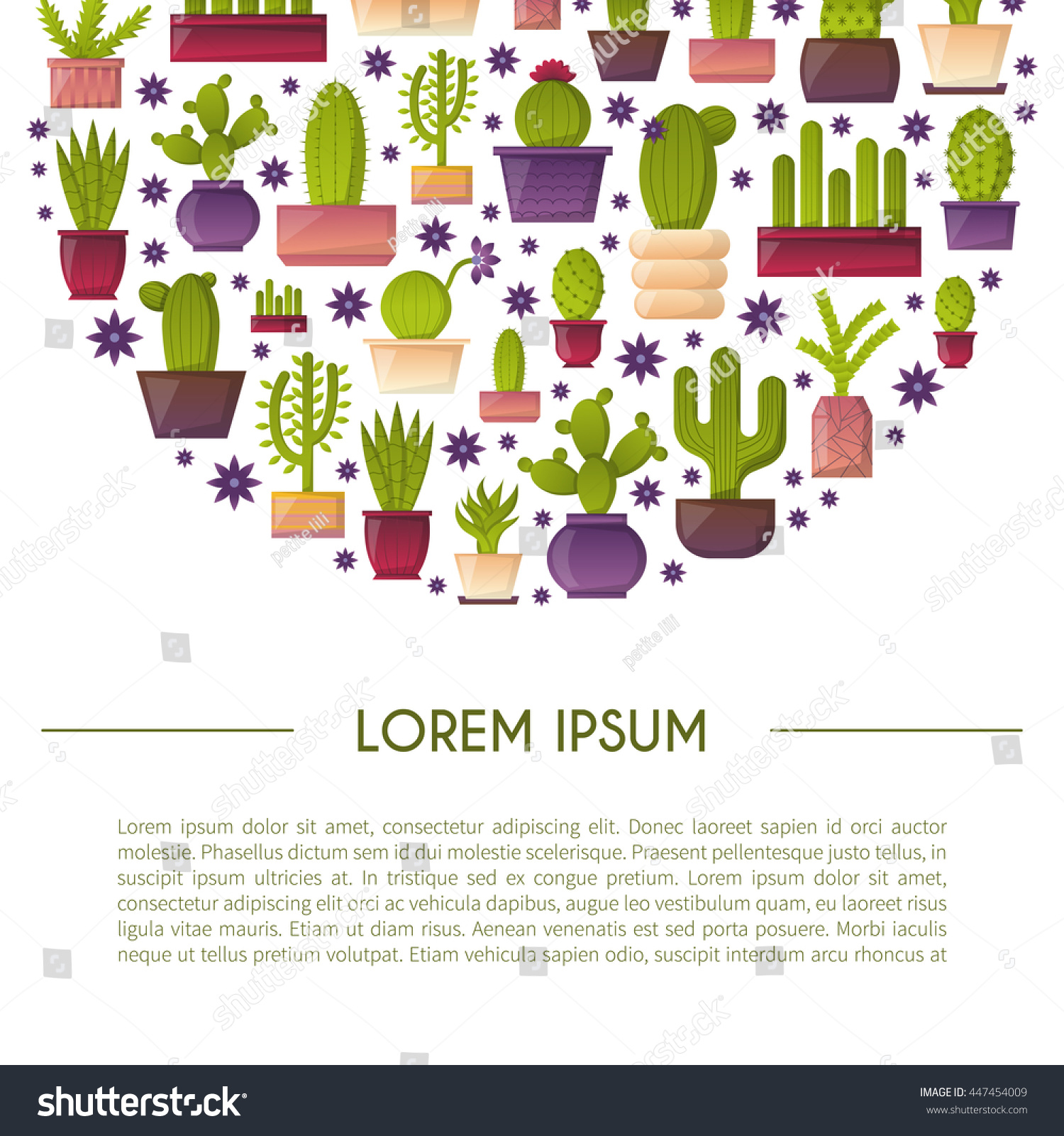 vector illustration cartoon isolated cactus vector stock vector vector illustration with cartoon isolated cactus vector house plant in flowerpot home interior background