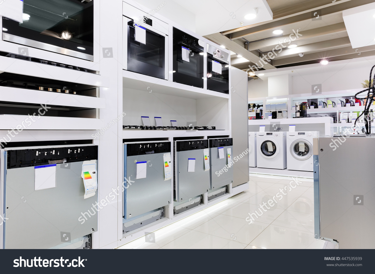 Gas Electric Ovens Other Home Related Stock Photo (Edit Now ...