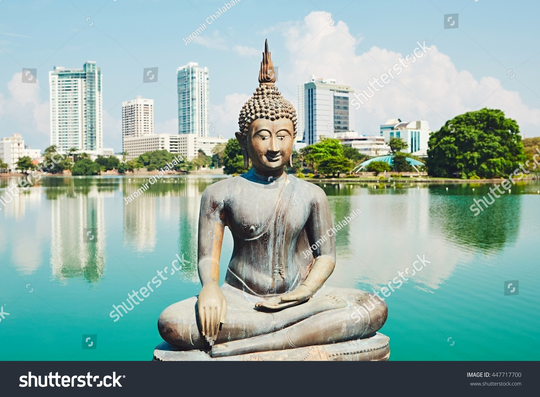Budhist Temple Colombo Seema Malaka Temple Stock Photo (Edit Now