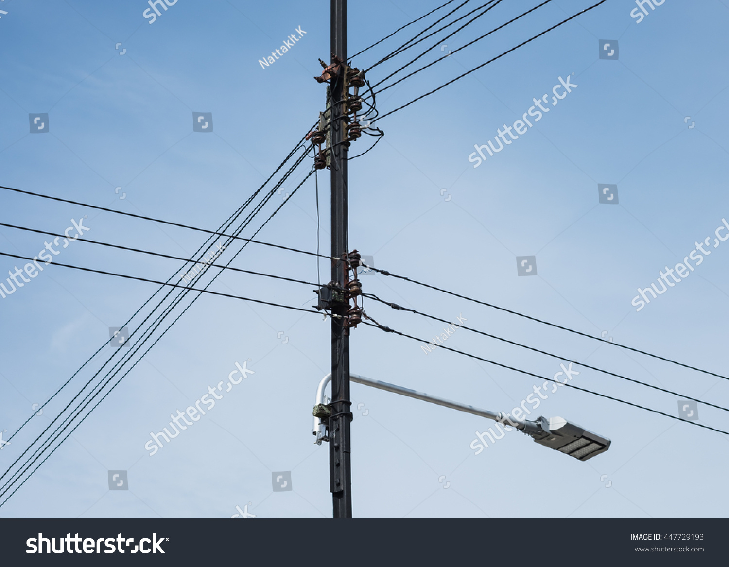 Cable Wiring Branching Three Phase Low Stock Photo (Edit Now ...