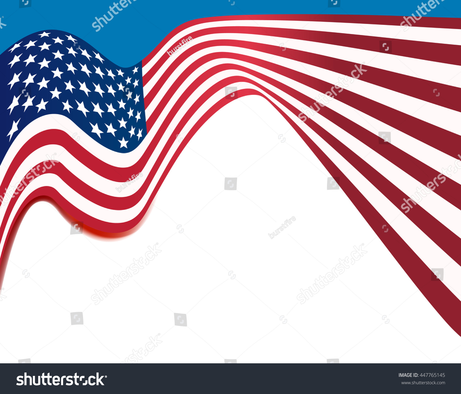 american flag background, usa national colors wavy background #447765145