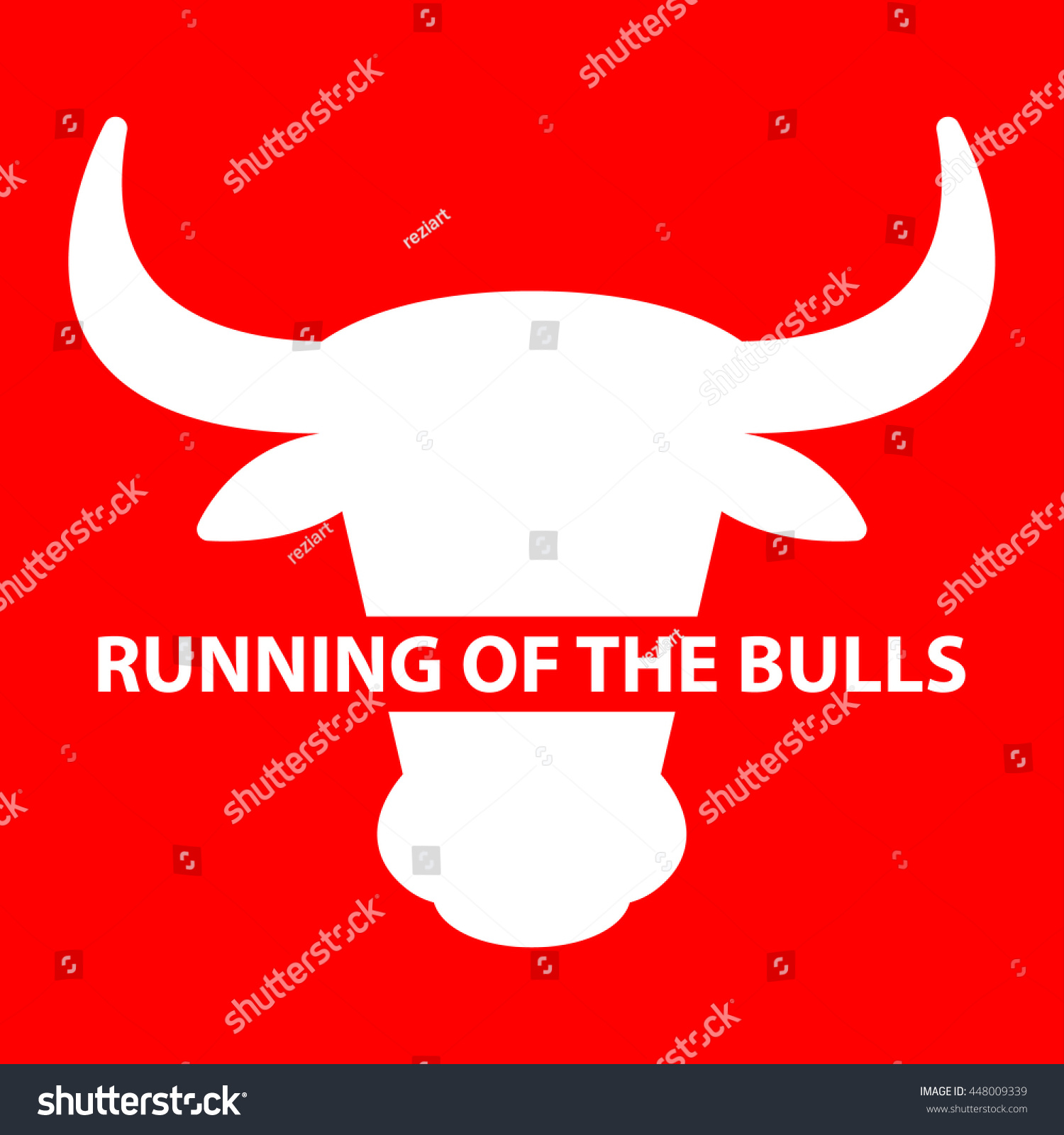 Festival Running Of The Bulls In Spain Design Illustration Fiesta De San Fermin