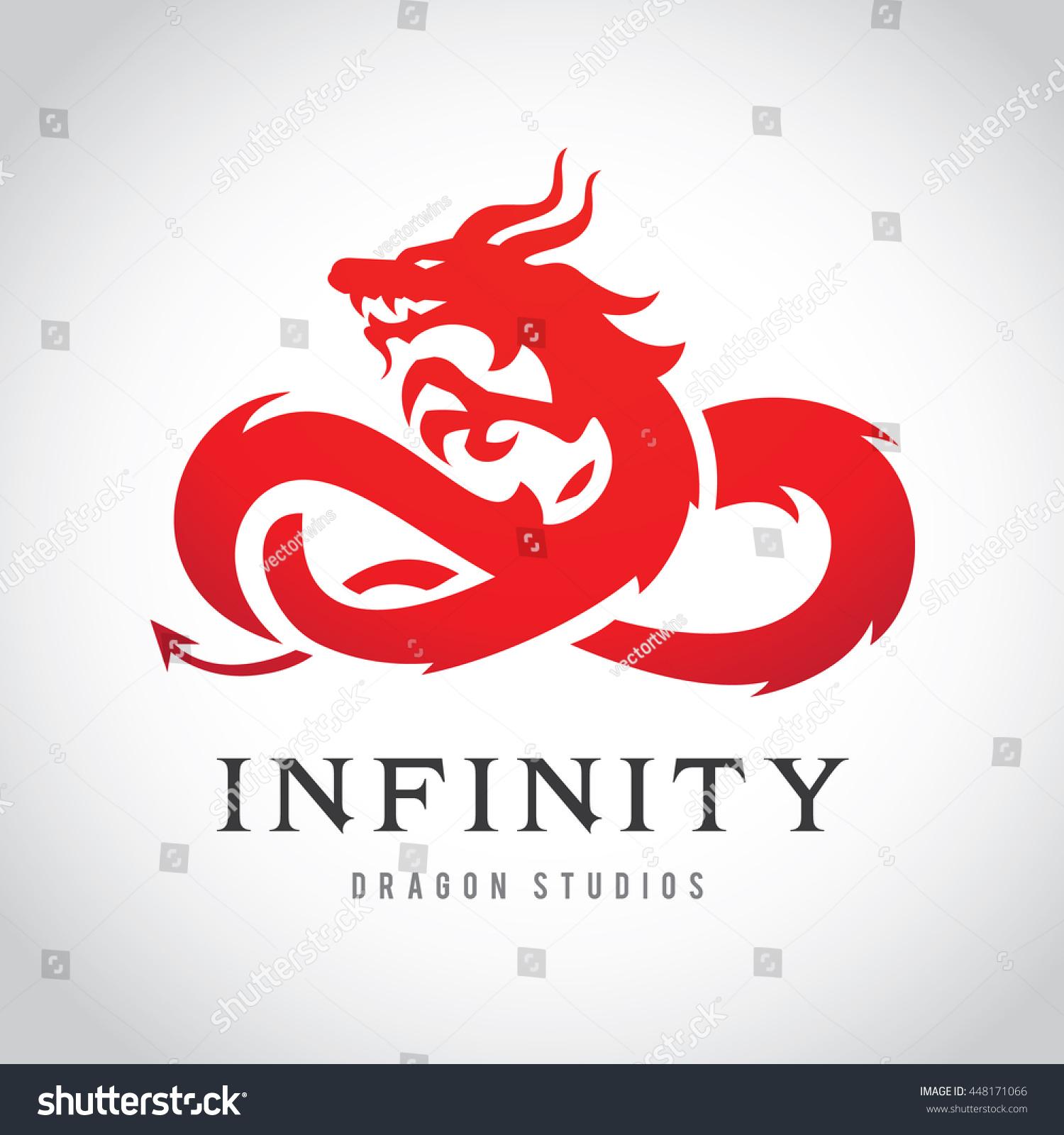 royalty free dragon logo 448171066 stock photo avopix com