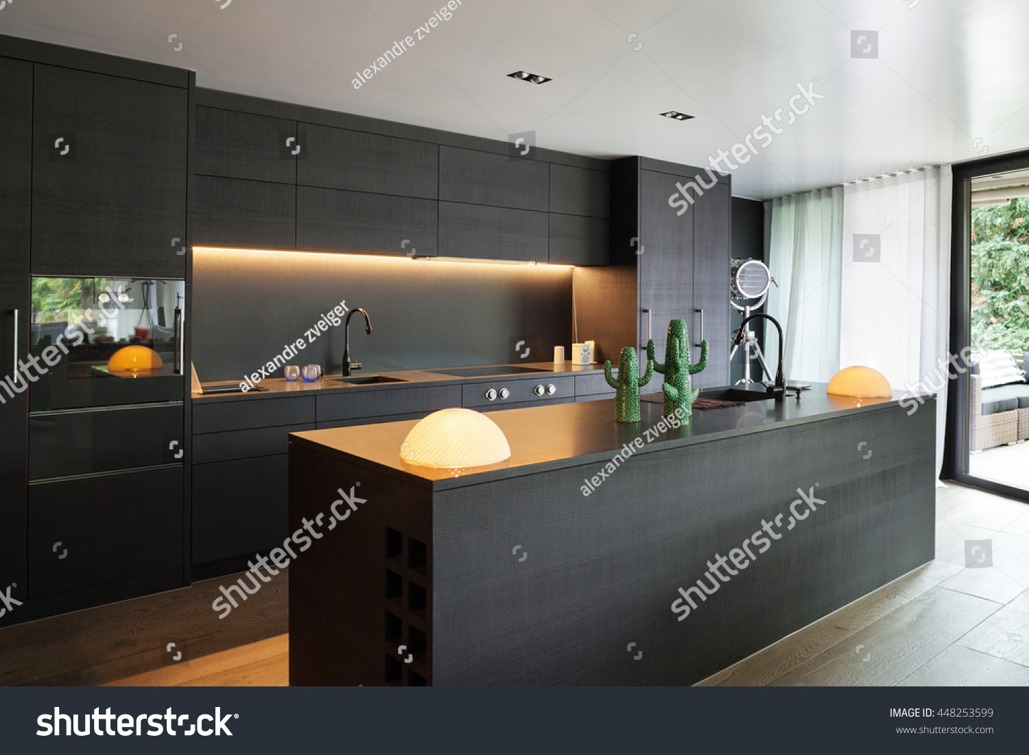 Black White Kitchens Modern