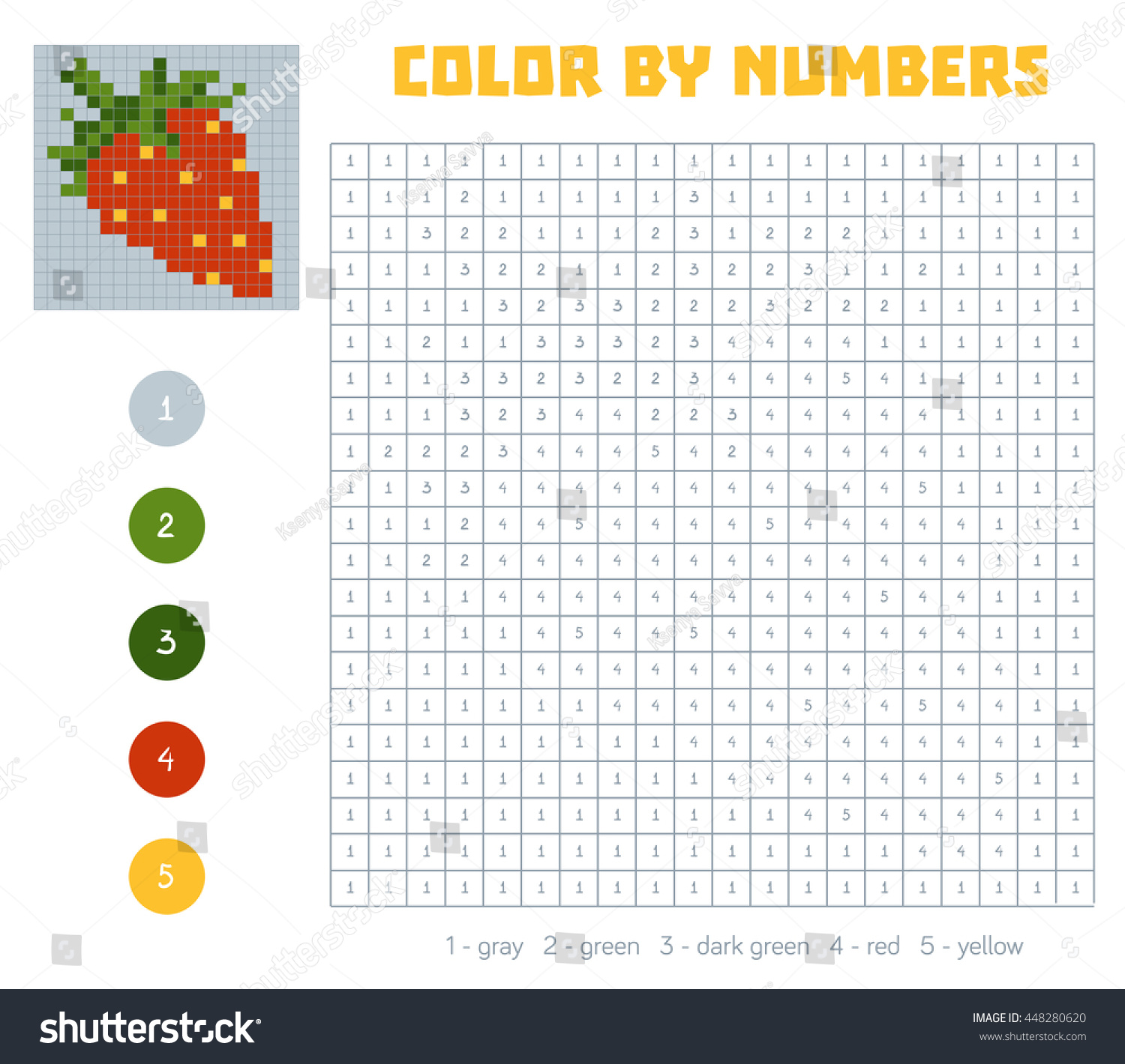 448280620 on Color By Number