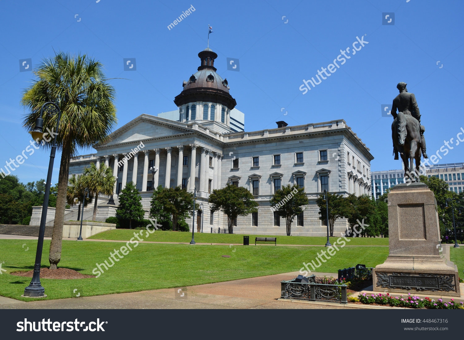 Columbia south carolina june 24 2016 stock photo 448467316 for Builders in south carolina