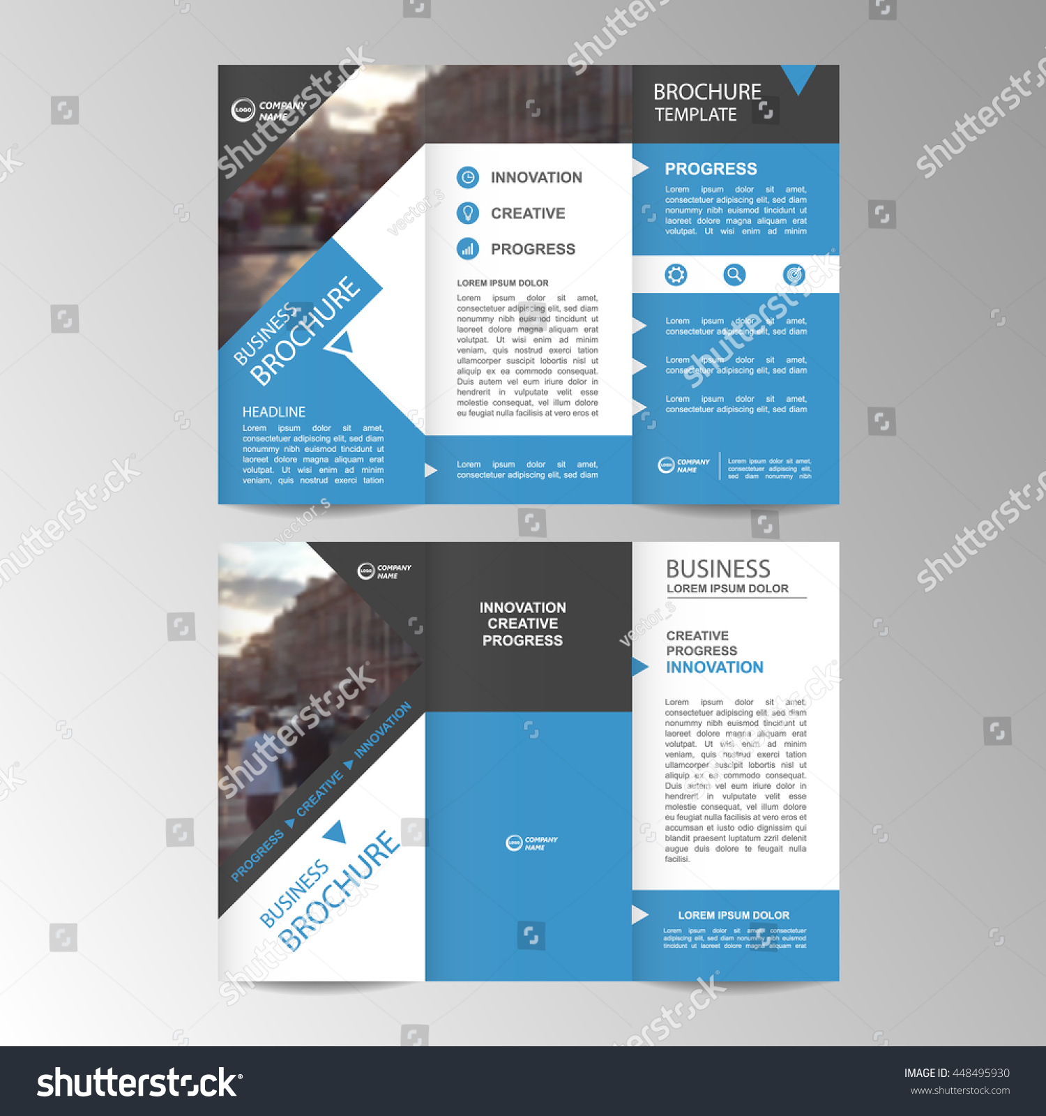 Conference Booklet Template Eliolera – Conference Brochure Template