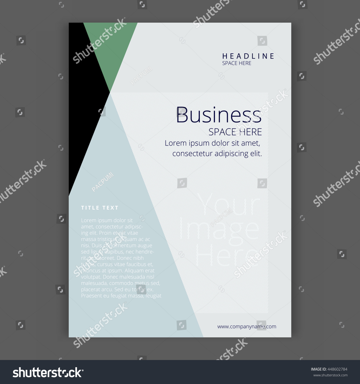 Simple Book Cover Template : Modern simple template design business book stock vector
