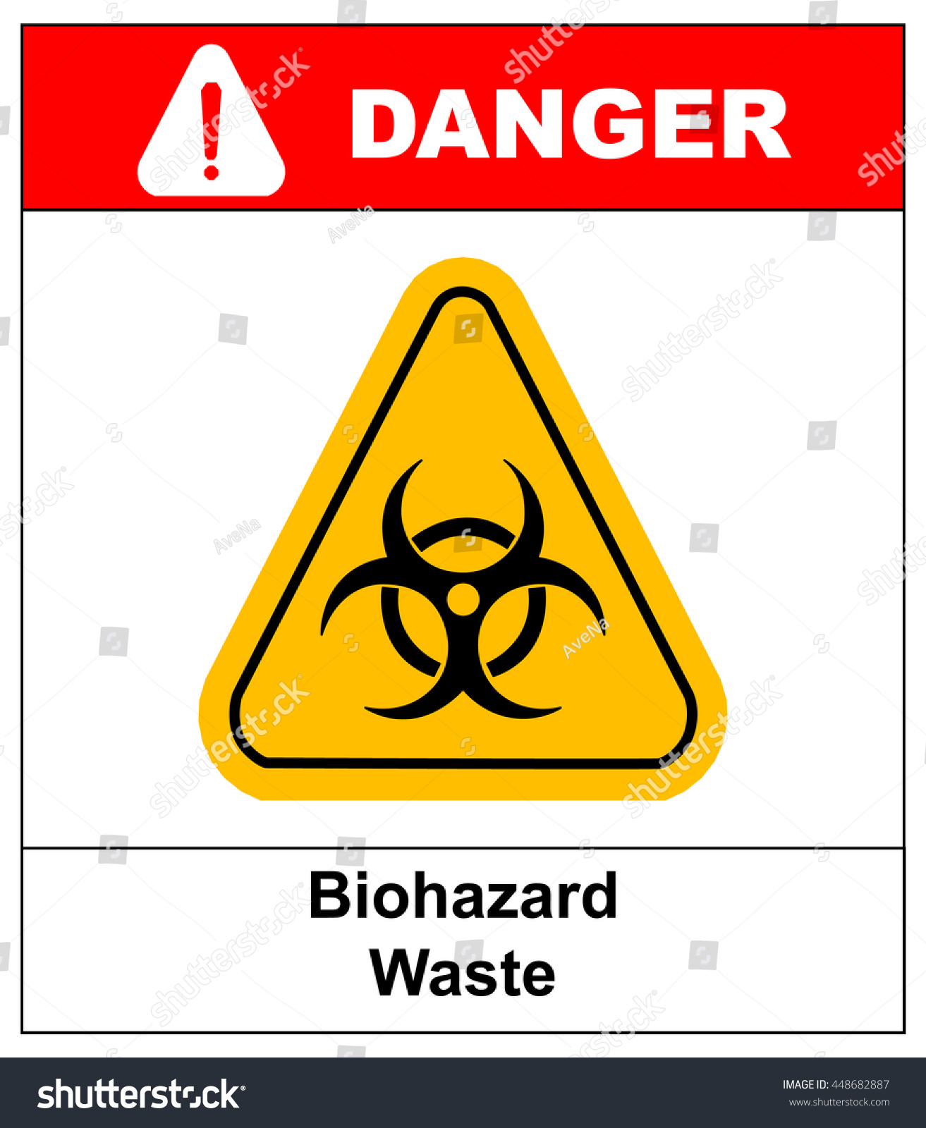 Biohazard symbol sign biological threat alert stock vector biohazard symbol sign of biological threat alert black yellow triangle signage text isolated biocorpaavc Choice Image