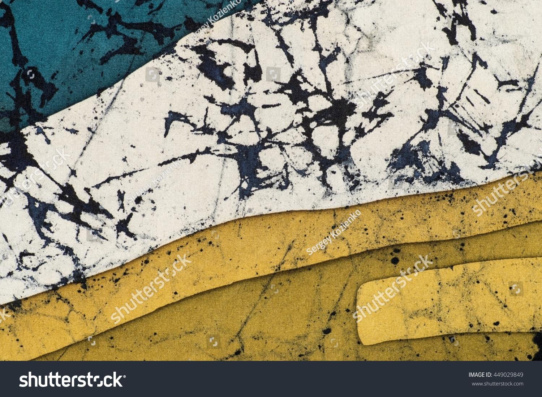Abstraction Fragment Hot Batik Background Texture Stock Illustration ...