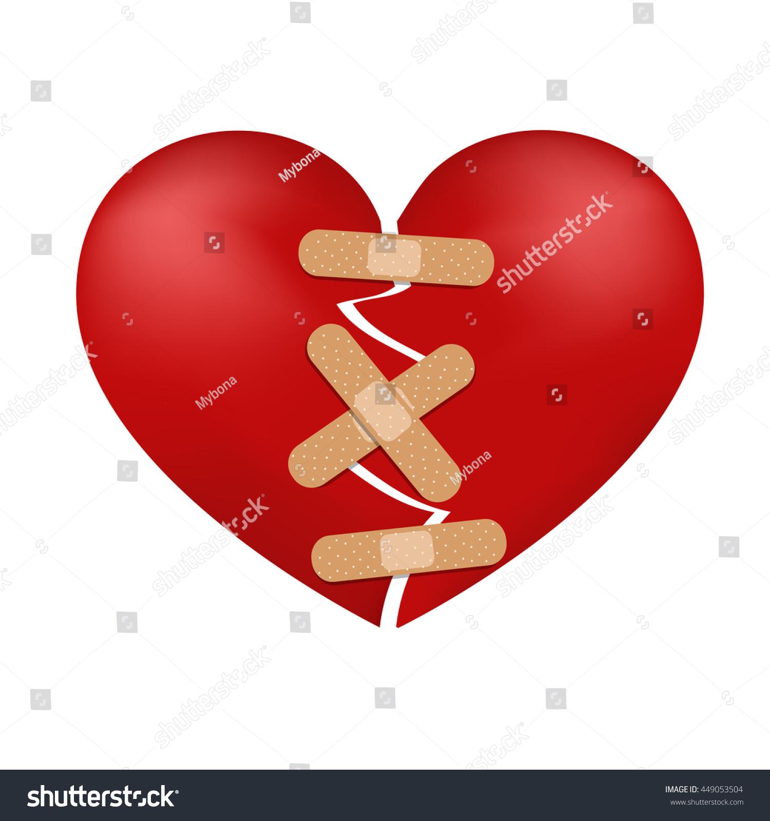 Mending broken heart
