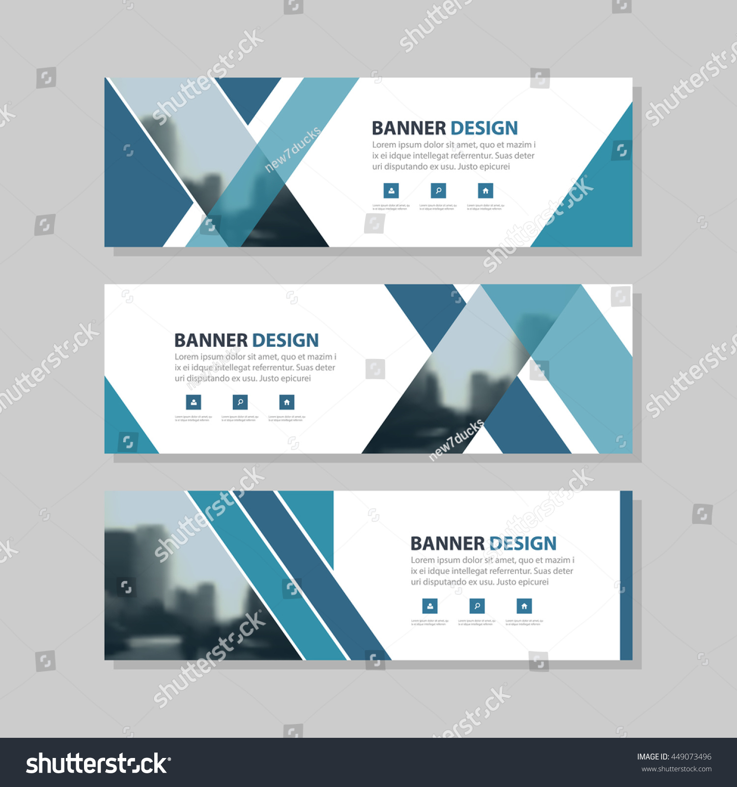 Blank Exhibition Stand Vector : Orange triangle abstract corporate business banner stock