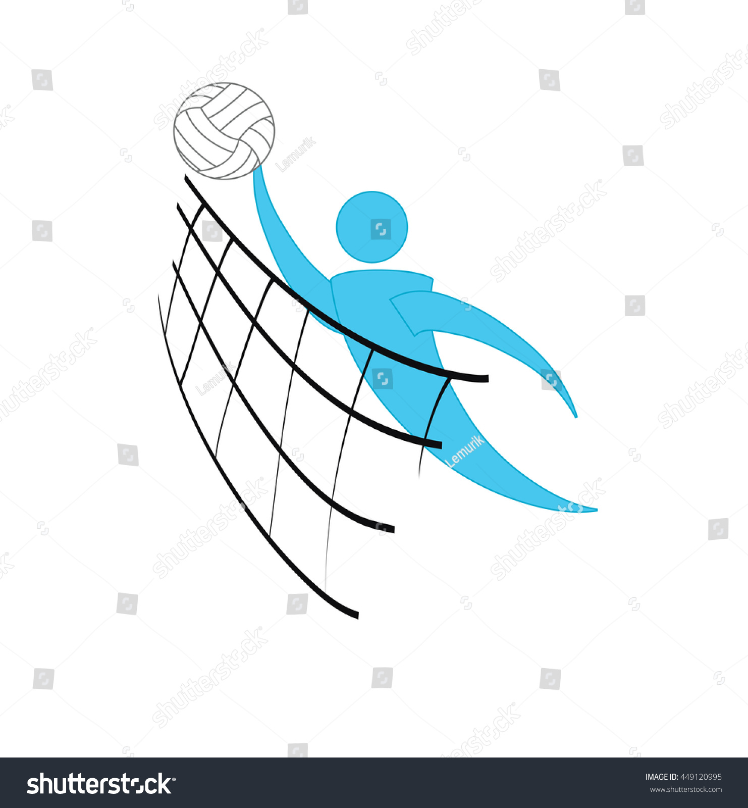 symbol for volleyball ball symbol volleyball logo badge