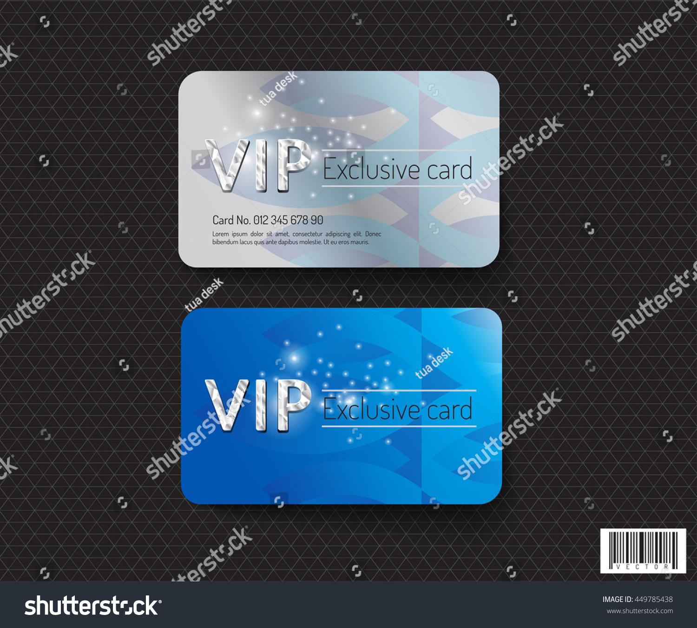 Vip card template design luxury concept stock vector 449785438 vip card template design luxury concept vector file maxwellsz
