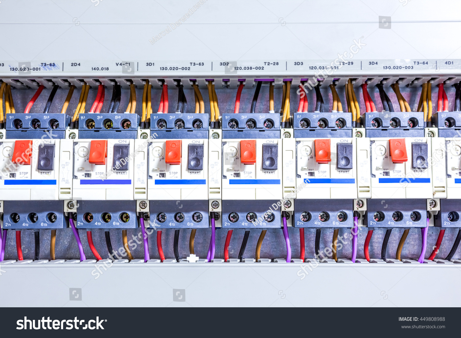 This Electricity Fuse Box System Whole Stock Photo Edit Now House Wiring Is An For The