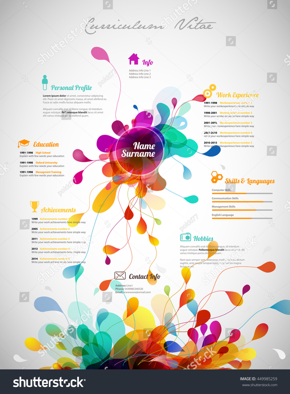 150 best cv images on pinterest clutter creative and creativity