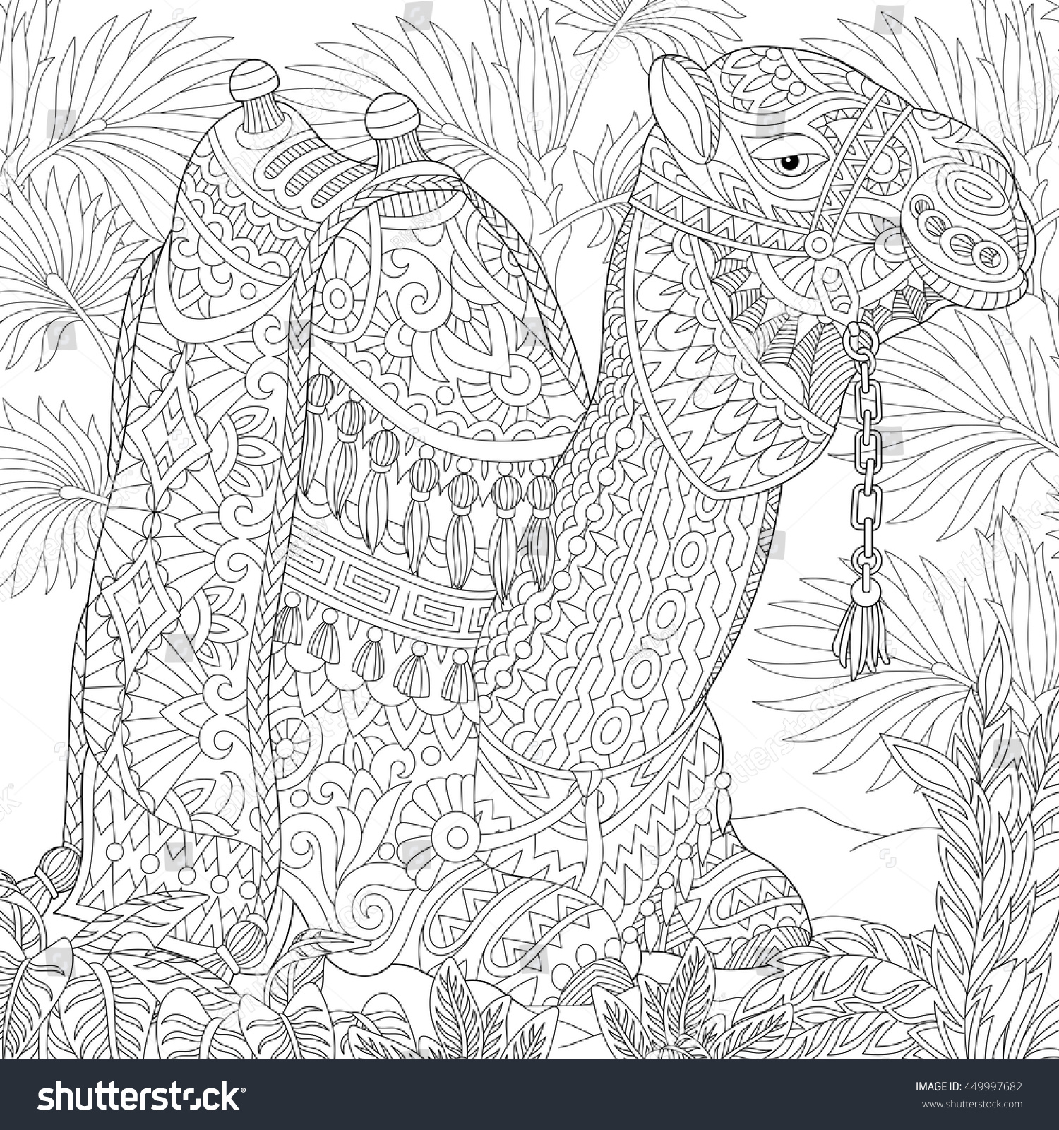 desert oasis coloring pages - photo#18