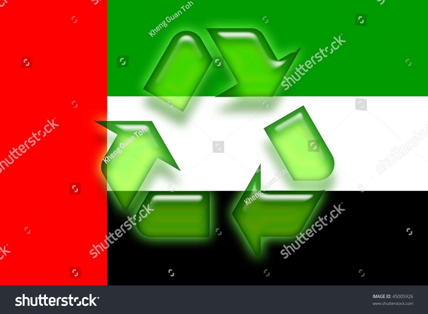 Flag uae national symbol illustration clipart stock illustration flag of uae national symbol illustration clipart eco recycling biocorpaavc Images