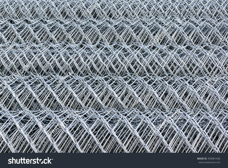 Metal Wire Mesh Rolls Stock Photo 450081436 - Shutterstock