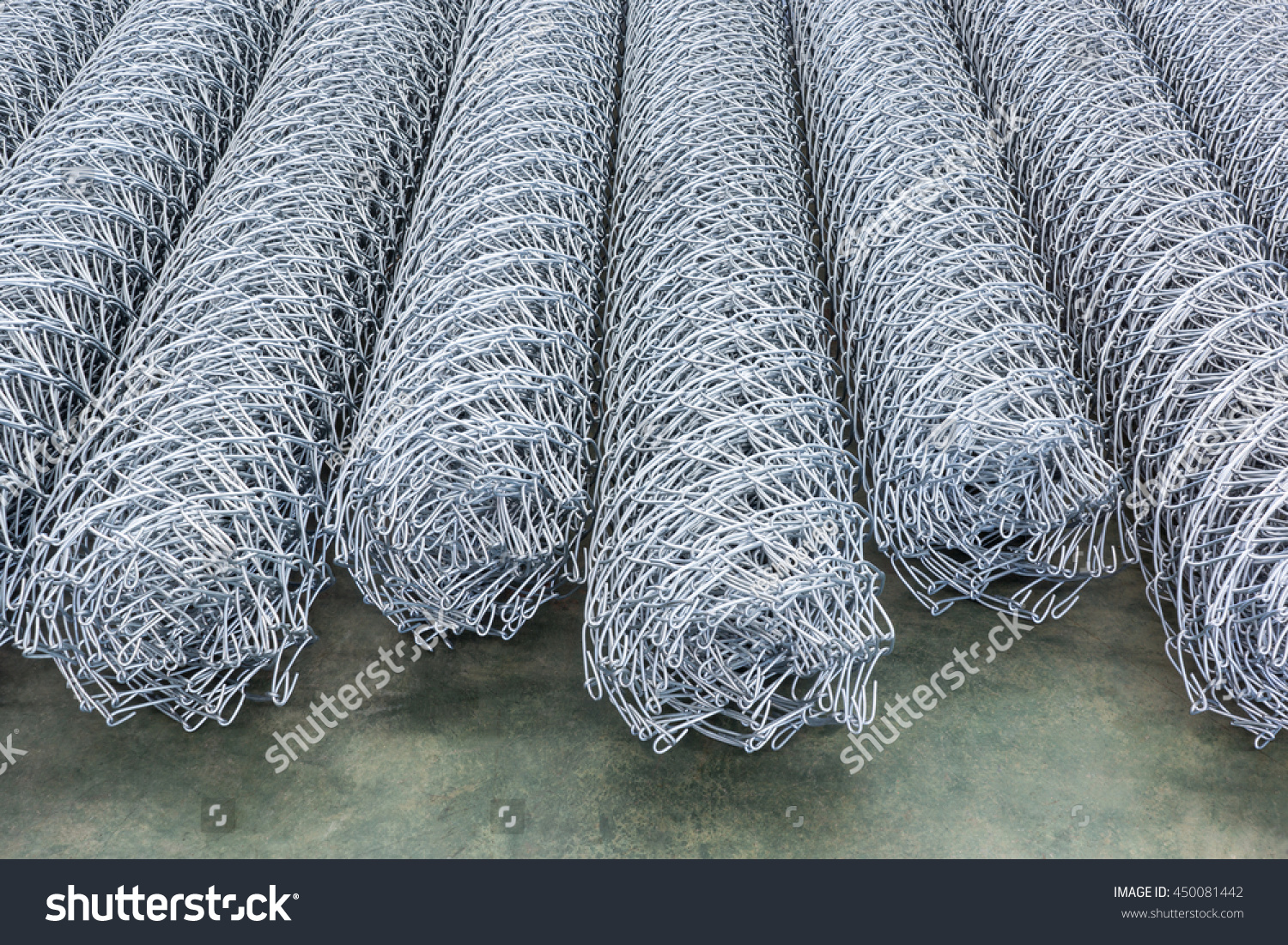 Metal Wire Mesh Rolls Stock Photo (Edit Now) 450081442 - Shutterstock