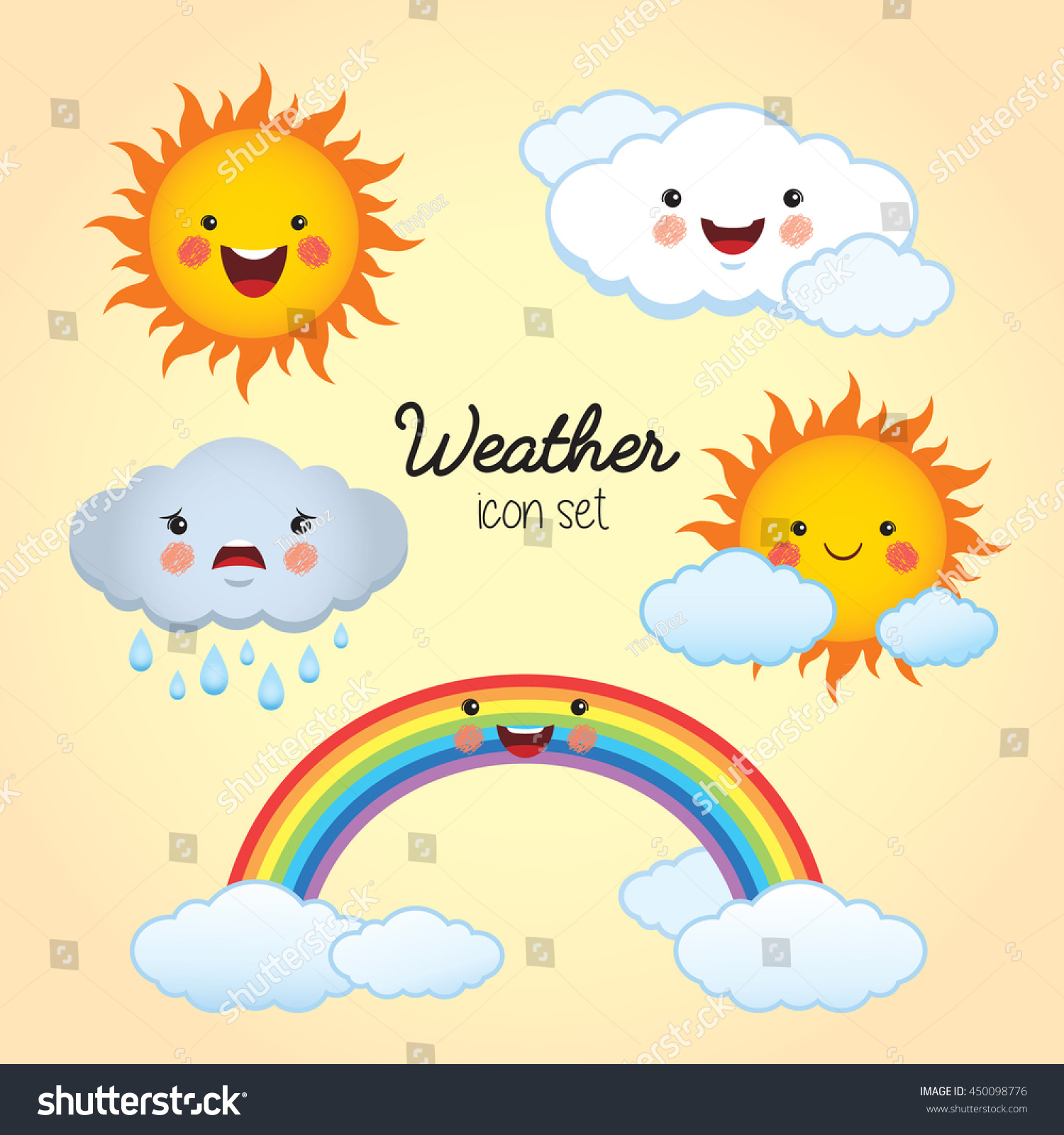 Cartoon Sunny Weather