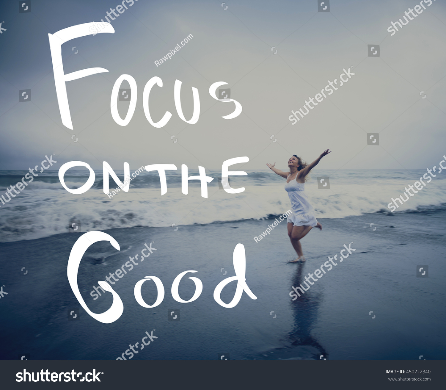 Lifestyle Positive Thoughts Mind Life Concept People Stock Image 450222340