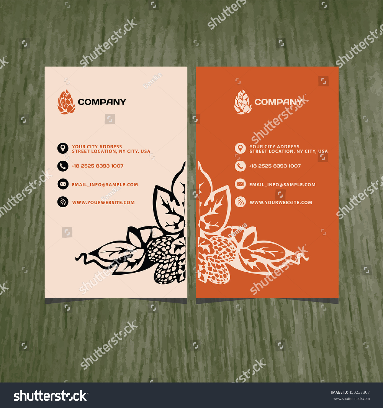 Branding Brand Book Business Card Vector Stock Vector HD (Royalty ...