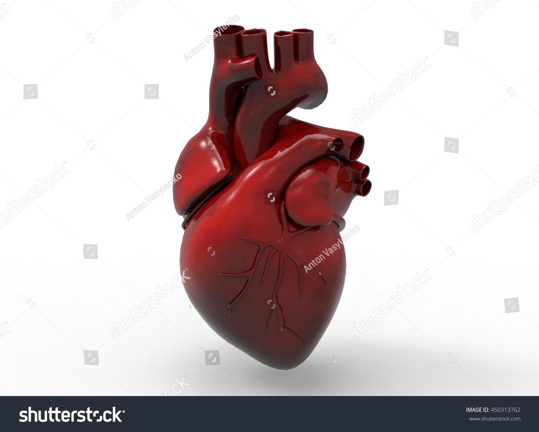3 D Illustration Heart Icon Game Web Stock Illustration 450313762 ...
