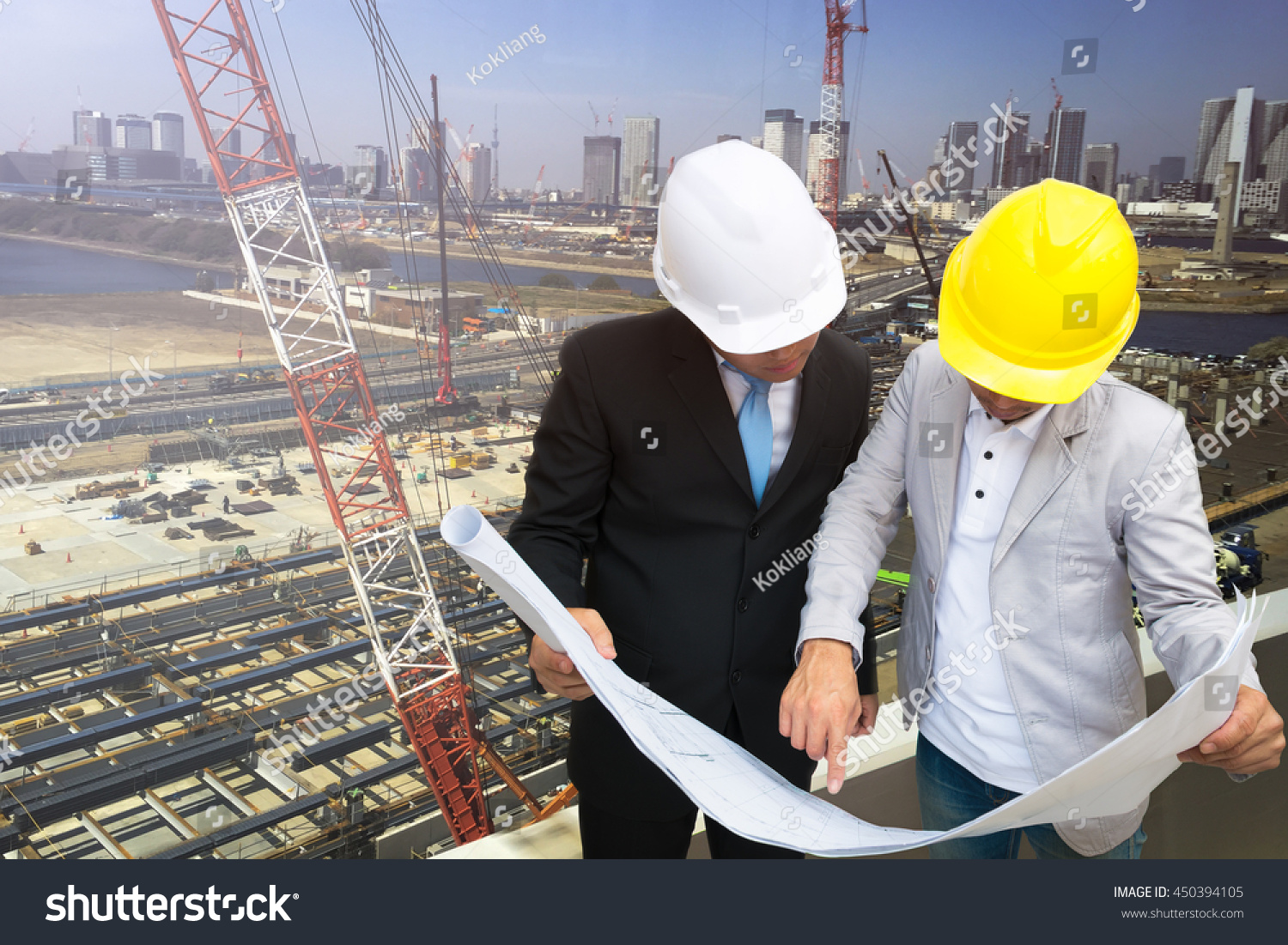 Management consulting engineers working construction site stock management consulting engineers working construction site stock photo 450394105 shutterstock malvernweather Image collections