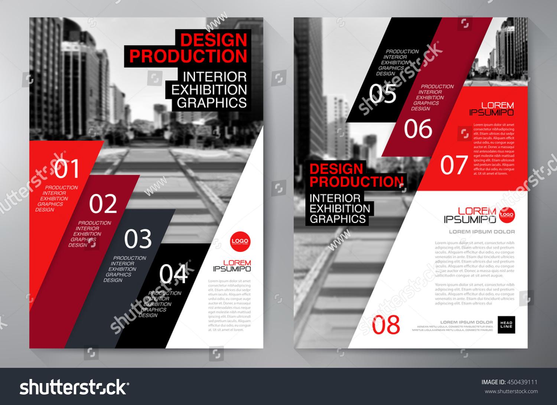 Business Brochure Flyer Design A 4 Template Stock-Vektorgrafik ...