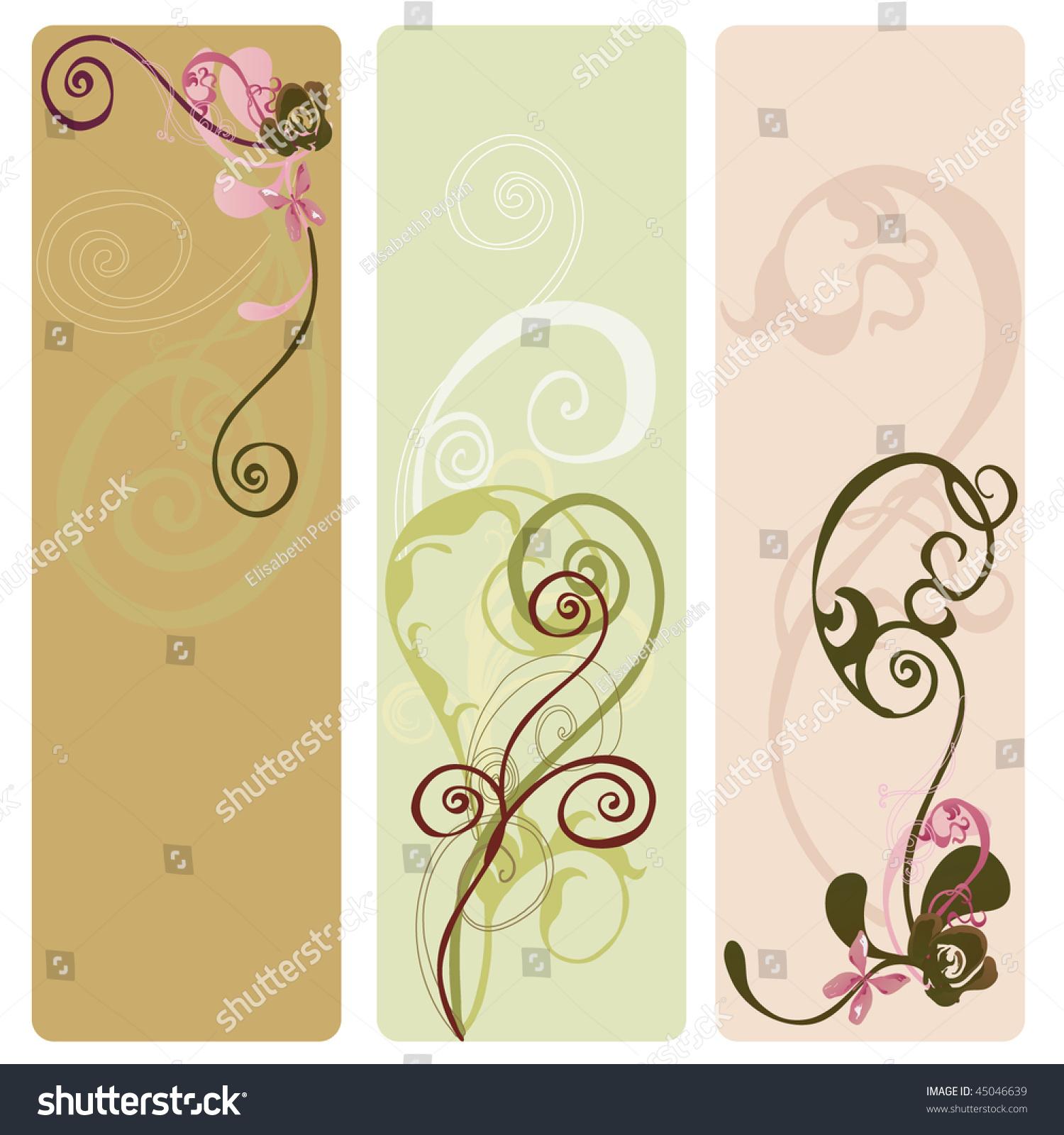 Set of decorative banners   EZ Canvas