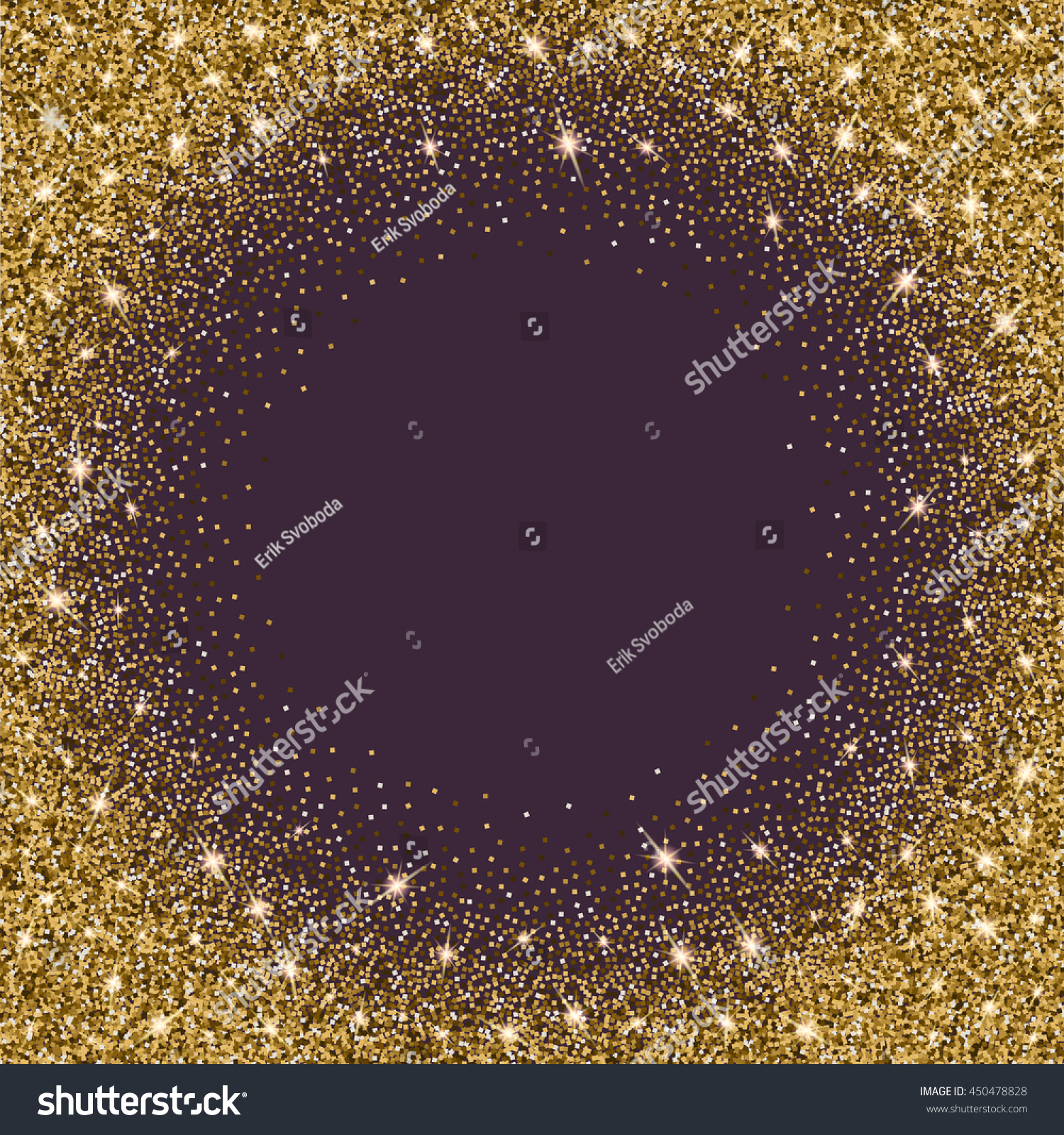 Gold glitter bright vector transparent background golden sparkles - Gold Glitter Bright Vector Background Golden Sparkles Shiny Texture Excellent For Your