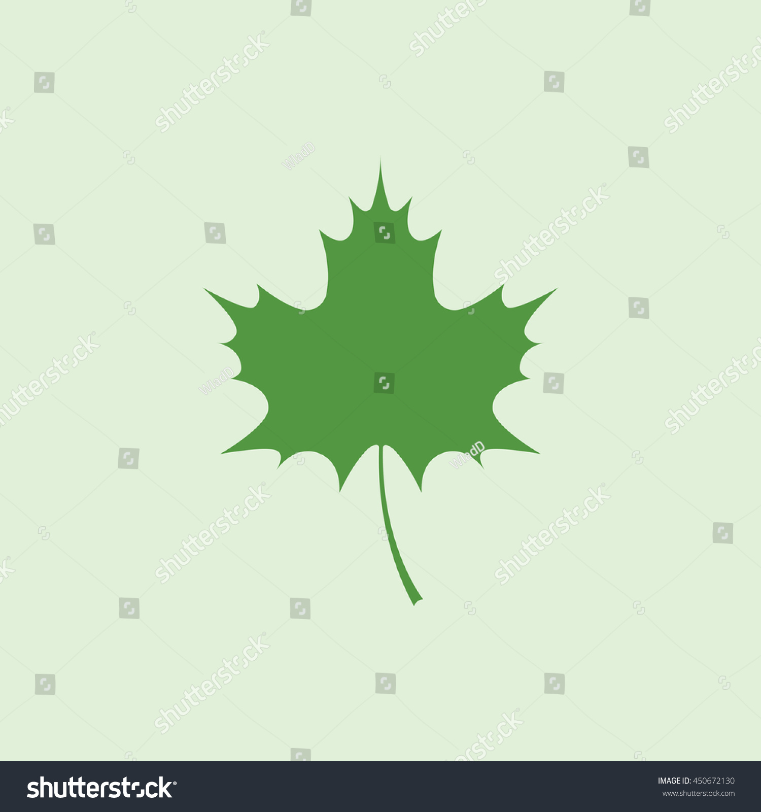 icon maple leaf stock vector 450672130 shutterstock