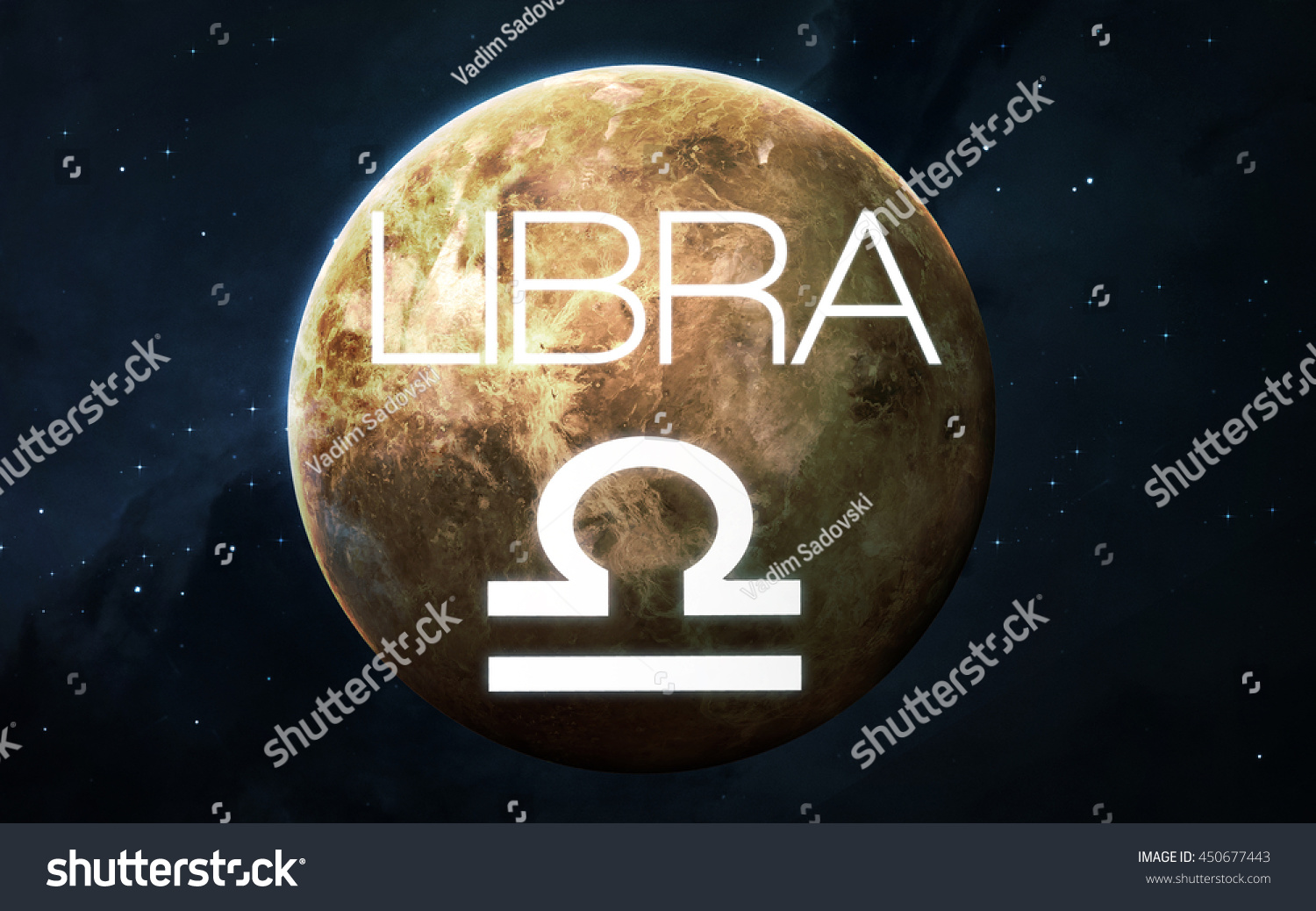 Zodiac Sign Libra Elements This Image Stock Photo (Edit Now