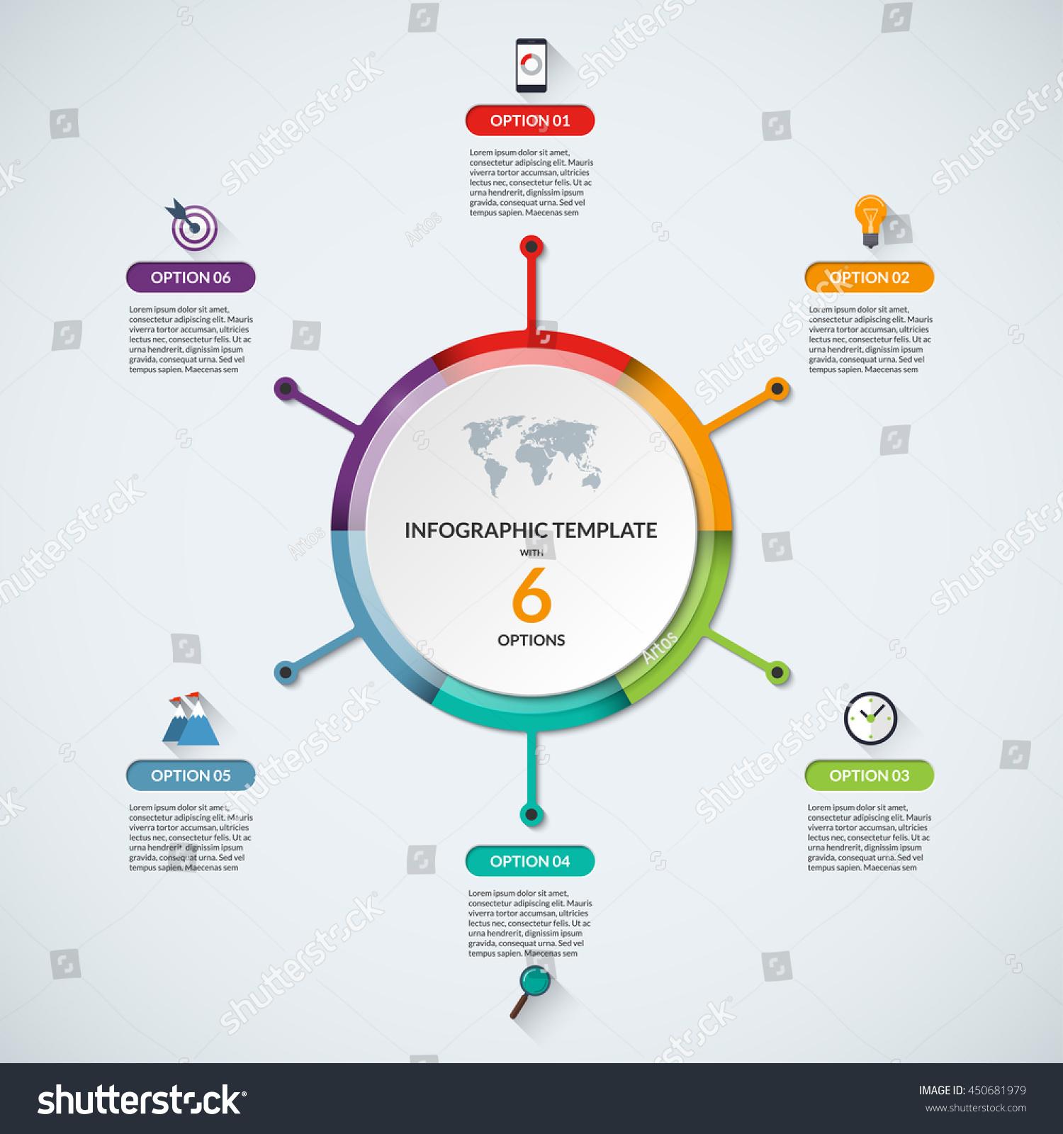 Infographic circle diagram template business concept stock vector infographic circle diagram template business concept stock vector 450681979 shutterstock maxwellsz